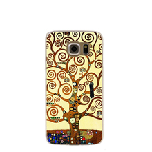 00165 gustav klimt tree of life cell phone case cover for Samsung Galaxy S7 edge PLUS S6 S5 S4 S3 MINI