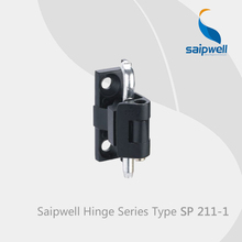 Saipwell window hinges cover SP211-1 kitchen corner cabinet hinges zinc alloy door hinges for pvc doors 10 Pcs in a Pack(China)