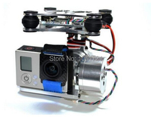 Gopro Metal Brushless Camera Gimbal w/Motor &Controller,Blade Walkera QX350 DJI Phantom 1 2 3 Aerial photo FPV