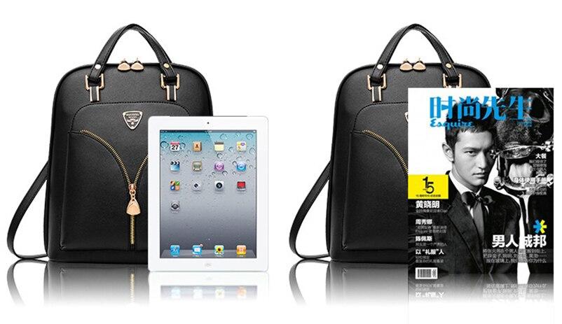 Nevenka Anti Theft Leather Backpack Women Mini Backpacks Female Travel Backpack for Girls School Backpacks Ladies Black Bag 201814