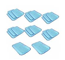 20 pcs/Lot Blue Microfiber Dweeping wet Mopping Cloths pad for iRobot Braava 380 380t 320 Mint 4200 4205 5200 5200C Robot(China)