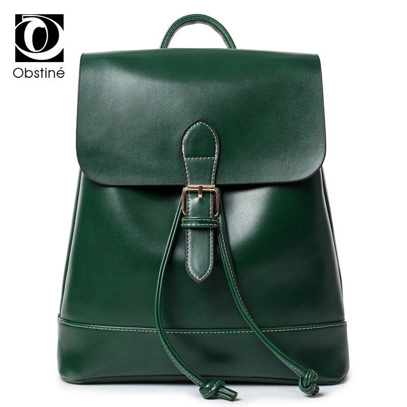 Women Leather Backpack Black Bolsas Mochila Feminina Large Girl Schoolbag Travel Bag Solid Candy Color<br>