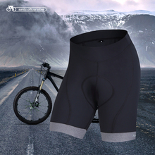 Santic Cycling Shorts Men 2017 Coolmax 4D Padded Shorts Shockproof MTB Road Bike Pro Shorts Reflective ciclismo KS6009M(China)