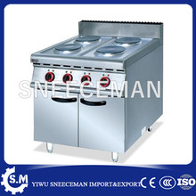 Cooking Appliances counter top stainless steel electric cooking stove with cast iron 4 burner