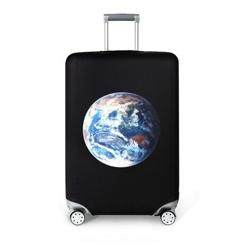 Funda para maleta, impresiñon del mundo
