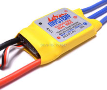Mystery 50A Brushless ESC Multi- Copter BEC RC Speed Controller Motor for  Airplane Helicopter