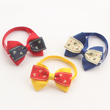 Armi store Handmade  Five-pointed Star Pattern Pirate Ribbon Dog Tie Dog Bow Ties 6031030 Pet Accessories Wholesale
