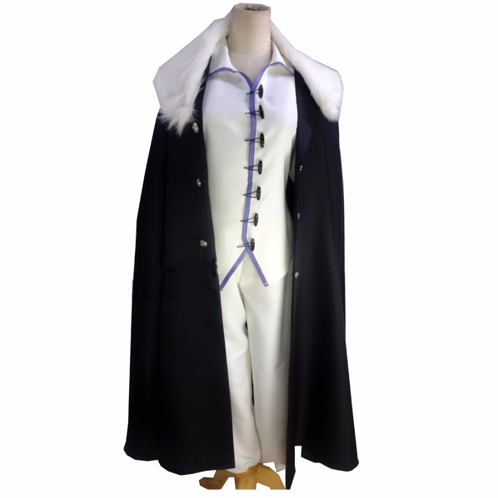 2018 Fyodor Dostoyevsky Cosplay Costume From Bungo Stray Dogs