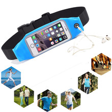 Waterproof Running Pocket Sport GYM Bag Pouch Cover Waist Belt Mobile Phone Case Umi Rome X Oukitel K6000 K4000 pro