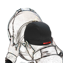 Motorcycle Bicycle Summer Breathable Headgear for Moto Helment Sweat Inner Cap for Men and Women Headwear(China)
