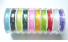 New Arrival 0.8MM Random Mix Colors Stretch Elastic Bead 8m/roll*10rolls Wire String Cord Jewelry Findings for DIY Fashion craft