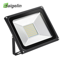 110V 50W LED Flood Light 5500LM IP65 Waterproof LED Floodlight 70 LED Reflector Spotlight Outdoor Garden Lighting Ship From US(China)