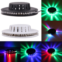 48 LED RGB Sunflower Stage Light Projector Light Auto Sound-Control Colorful Party Disco Stage Lighting Lamp Effect Spotlight