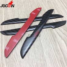 For Land Rover Defender Freelander 2 Discovery Sport All Model Years Carbon Fiber Door Side Anti Scratch Rubbing Trim 4P