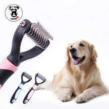 Pet Dog Comb Long Hair Brush Plastic Handle Puppy Cat Massage Bath Brush Multifunction Pet Grooming Tool Pet Products Wholesale