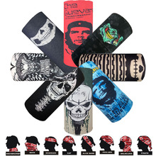 Skull Series Bandanas Sport Bicycle Motorcycle Variety Turban Magic Headband Veil Multi Head Scarf Scarves Face Mask Wrap