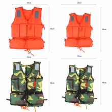 Child Adult Buoyancy Life Vest Swimming Boating Safety Ski Survival Aid Jacket With Whistle Life Aid Vest Emergency Life Vest