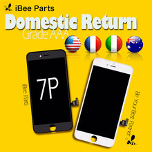 iBee Parts 5PCS Grade AAA high screen for iPhone 7 plus LCD display screen Replacement Lens Pantalla with Touch Digitizer(China)