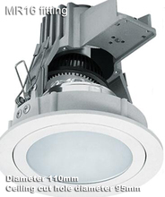 3 inch 3.5'' adjustable with junction box anti glare proof downlight fixture fitting MR16 antifog anti-fog bulb holder