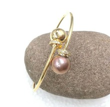 Circle style 11mm Kasumi cultured pearl bracelet