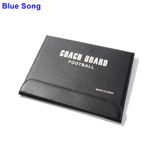 Folding magnetic football soccer coaching board tactics board soccer tactics plate whiteboard marker Basketball tactics board(China)