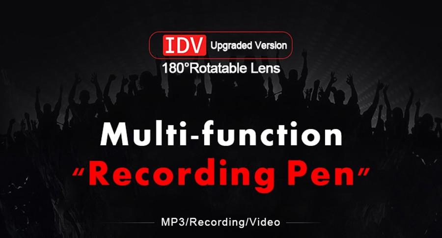 Unterhaltungselektronik Tragbares Audio & Video Tragbare Mini Kamera Recorder 1080 P Volle Hd Sport Dv Camcorder Drehen Objektiv Stimme Video Recorder Eingebauten Player Mini Dvr