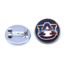 NCAA Charms Auburn Tigers Broochs For Women & Men Coat Pin Spider Brooch Fashion Jewelry 2017