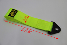 Tow strap High Quality Racing car tow strap/tow ropes/Hook/Towing Bars with Screws and nuts CY189-CN