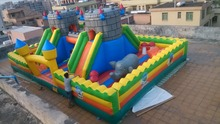 (China Guangzhou) manufacturers selling inflatable slides, inflatable castles, Inflatable bouncer CHB-221(China)
