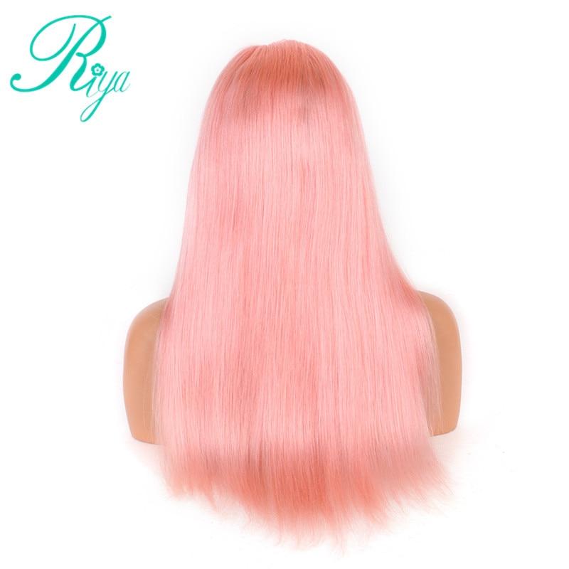 pink human hair wig (4)