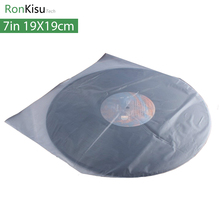 7 inch anti static Lp Protection Storage Inner Bag for Turntable Vinyl CD player Disc Record, gramophone accessories, 19*19cm(China)
