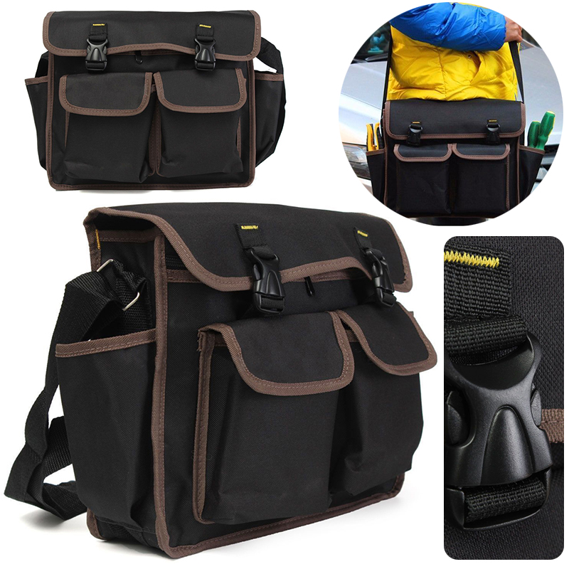 Thicken Oxford Multi Funtional Tool Bag Hardware Kit Shoulder Strap Bags Backpack Repairing