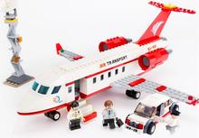 New city series the Airport VIP Service model Building Blocks set Compatible 60102 Classic private plane Toys for children
