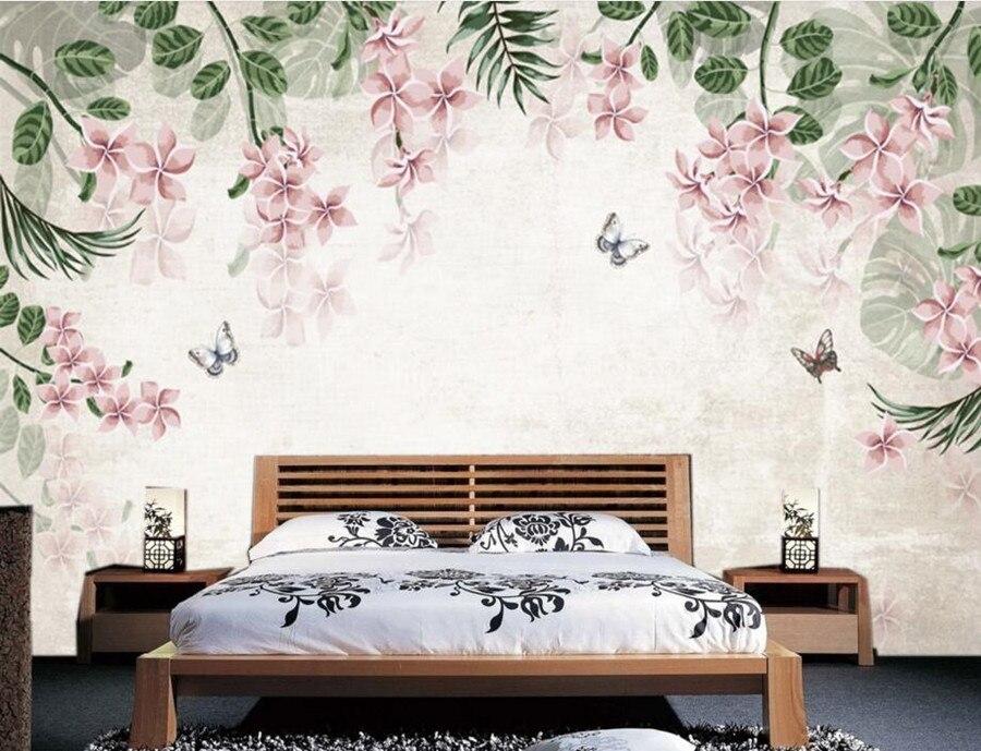 Custom wall papers home decor,European retro hand-painted wallpaper,livng room tv sofa wall bedroom 3d mural papel de parede<br>