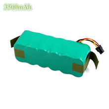 14.4V 3500mAh NI-MH Replacement Panda X500 Battery Pack for Ecovacs Deebot Dibea X500 CR120 X580 Robotic Vacuum Cleaner