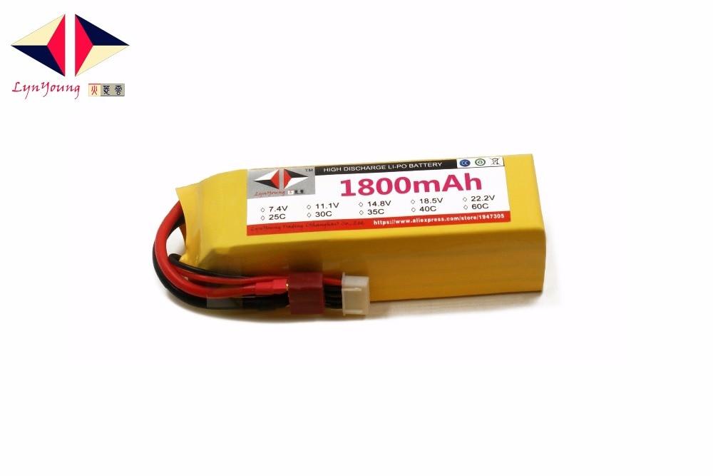 1800mAh 14.8V 35C 4s LYNYOUNG AKKU Lipo battery for RC Racing Car Drone Bike Truck UAV Glider Quadcopter Helicopter