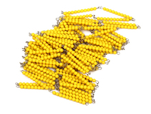 Baby Toy Montessori Golden Bead Chain 1000 Pcs Math Early Childhood Education Preschool Training Kids Toys Brinquedos Juguetes