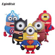 Buy Avengers Cartoon Usb Flash Drive Cute Minions Pendrive Captain America/Superman/Batman/Spiderman / Iron Man Memory Stick for $2.90 in AliExpress store