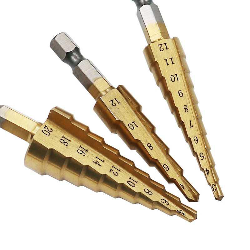 7 x 3-12mm Woodworking drill bit depth stop collars positioner drill locator sES