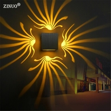 ZINUO AC85-265V 3W Aluminum Led Wall Lamps RGB With Remote Controller Sconce Light For Corridor Porch KTV Bar Home Decoration b(China)