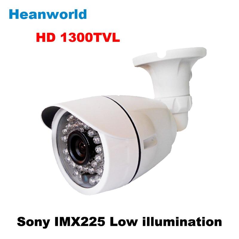 Heanworld sony 1300TVL bullet camera outdoor 1080P HD security 36 IR LED CCTV Camera waterproof camera with IR-CUT night vision<br>