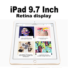 Apple iPad 9.7 inch Tablets Wi-Fi/4G Cellular 32G/128G Retina Display 64bit A9 Chip 10hour Battery HD Camera Touch ID Portable(China)