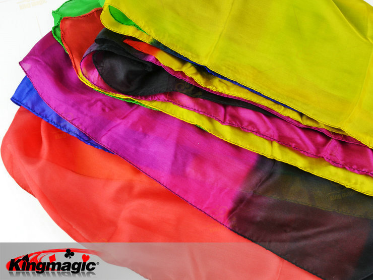 22 layer Color Silk Scarf Magic Silk Change Multicolor Magic Tricks for Stage Close Up Magic Props Gift for Kid<br>