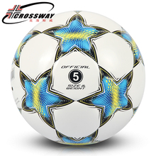 CROSSWAY ZQ-522 Size 5 PU Football For Match Training Match Soccer Ball Professional Five-a-side Football Goal Soccer Balls(China)
