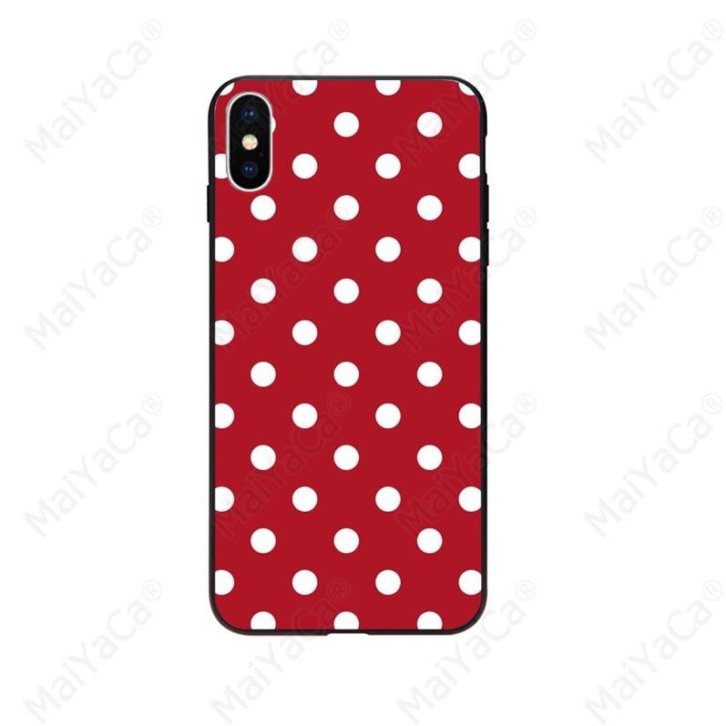 Polka Dots Mickey Minnie love heart