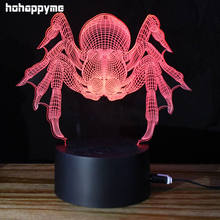 Spider LED Neon Sign Oktoberfest Decorations Acrylic Sheet LED Signs Neon Light Sign Decoration Desktop Light Box Home Decor