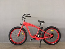 High Q 7 Speed 26*4.0 inch 48V 750Watt 16Ah Samsung Ebike Merry Gold Hummer Electric Mountain Bike Bicycle