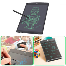 Ultra Thin 8.5 Inch LCD EWriter Writing Drawing Tablet Pen Paper Graphics Pad Memo Writing Message Board Graphics Digital Tablet(China)