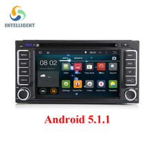2 DIN Android 5.1 dvd GPS For Toyota Corolla Camry Prado RAV4 Hilux VIOS Terios Radio stereo navigation touch screen multimedia