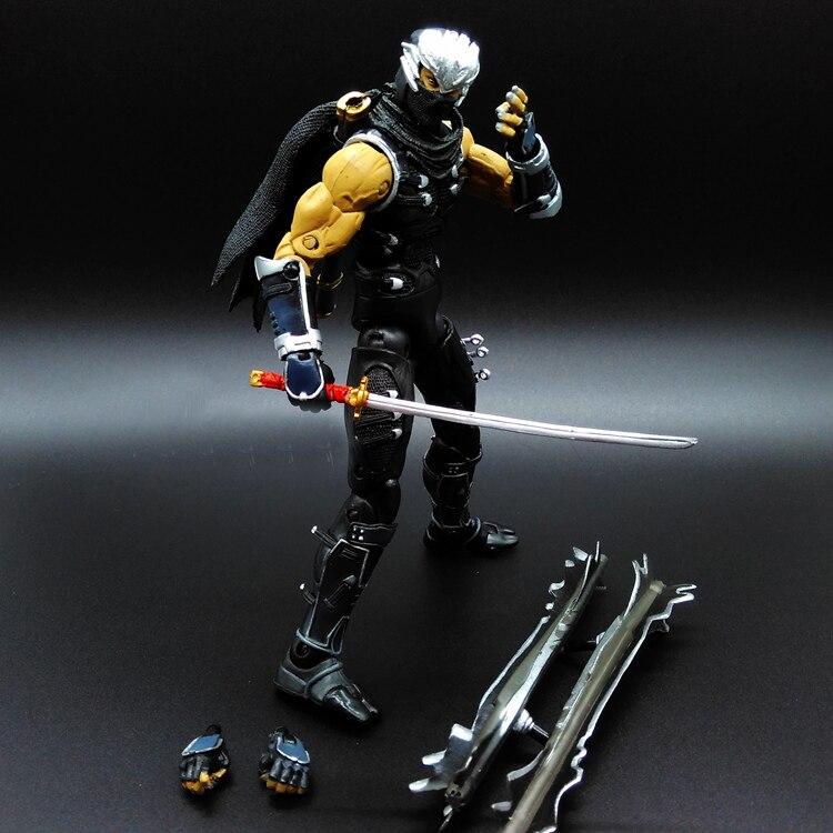 RYU HAYABUSA ninjia Ninja Gaiden Vigor Shadow Warriors game psp PVC 19cm Predators Figures X BOX<br><br>Aliexpress